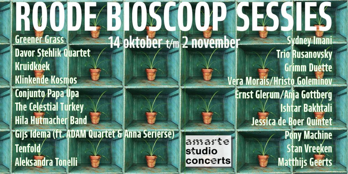 Roode  Bioscoop Sessies | LiVE